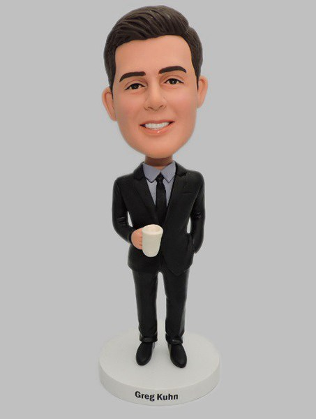Custom Create Boss Bobbleheads With Mug