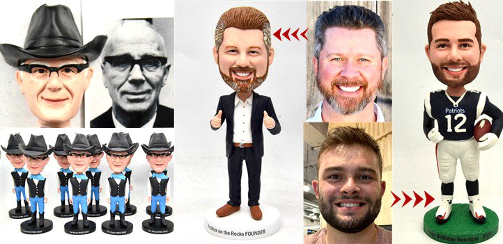 Custom Bobbleheads Gallery