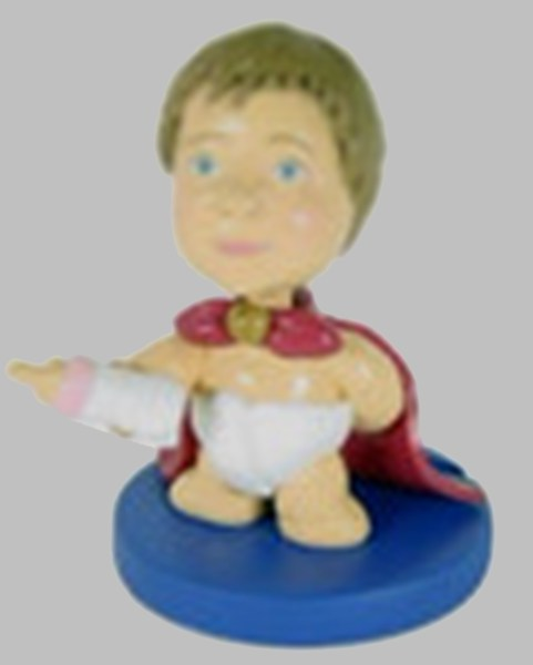 Baby In Cape Bobblehead